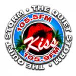 Logo da emissora Radio Kiss 105.5 FM
