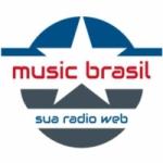 Logo da emissora Rádio Music Brasil