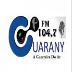 Logo da emissora Rádio Guarany 104.7 FM