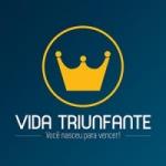 Logo da emissora Rádio Vida Triunfante