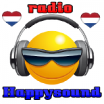 Logo da emissora Radio Happysound