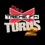 Logo da emissora Radio Xtreme 104.3 FM