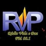 Logo da emissora Rádio Vida e Paz 88.1 FM