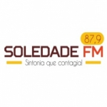 Logo da emissora Rádio Soledade 87.9 FM