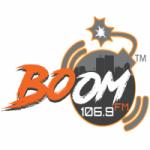 Logo da emissora Radio Boom 106.9 FM