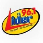 Logo da emissora Rádio Lider 96.1 FM