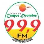 Logo da emissora Rádio Campos Dourados 99.9 FM