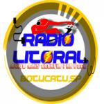 Logo da emissora Litoral FM