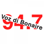 Logo da emissora Radio Voz di Bonaire 94.7 FM