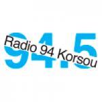 Logo da emissora Radio 94 Korsou 94.5 FM