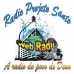 Logo da emissora Projeto Santo