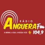 Logo da emissora Rádio Anguera 104.9 FM