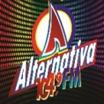 Logo da emissora Radio Alternativa 104.9 FM