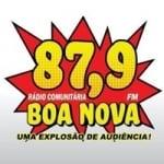 Logo da emissora Radio Boa Nova 87.9 FM