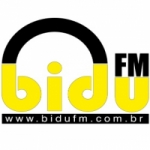 Logo da emissora Bidu FM