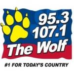 Logo da emissora WXLF 95.3 FM
