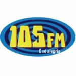 Logo da emissora Clube 105 FM