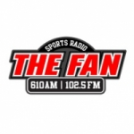 Logo da emissora The Fan 610 AM WFNZ
