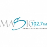 Logo da emissora Radio Magic 102.7 FM