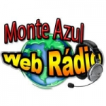 Logo da emissora Rádio Monte Azul Web