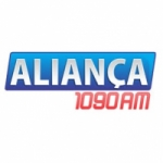 Logo da emissora Rádio Aliança 1090 AM