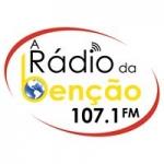 Logo da emissora Rádio da Benção 107.1 FM