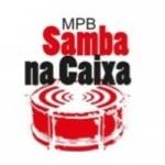 Logo da emissora Rádio MPB Samba na Caixa