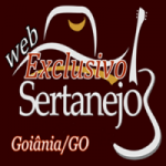 Logo da emissora Rádio Exclusivo Sertanejo