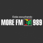 Logo da emissora Radio More 98.9 FM