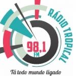 Logo da emissora Rádio Tropical 98.1 FM