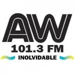 Logo da emissora Radio La AW 101.3 FM
