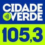 Logo da emissora Rádio Cidade Verde 105.3 FM