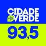 Logo da emissora Rádio Cidade Verde 93.5 FM