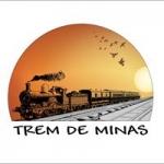 Logo da emissora Rádio Trem de Minas