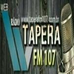 Logo da emissora Tapera 107