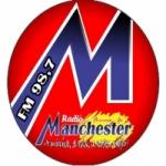 Logo da emissora Rádio Manchester 98.7 FM