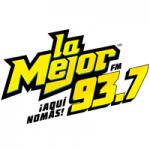 Logo da emissora Radio La Mejor 93.7 FM