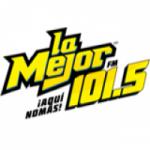 Logo da emissora Radio La Mejor 101.5 FM