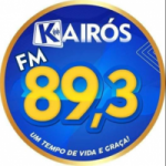 Logo da emissora Rádio Kairós 89.3 FM