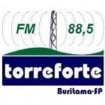 Logo da emissora Rádio Torre Forte 88.5 FM