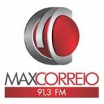 Logo da emissora Rádio Max Correio 91.3 FM