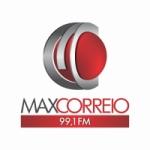 Logo da emissora Rádio Max Correio 99.1 FM