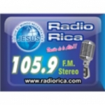 Logo da emissora Radio Rica 105.9 FM