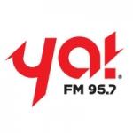 Logo da emissora Radio Ya 95.7 FM