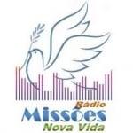 Logo da emissora Rádio Missões Nova Vida