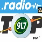 Logo da emissora Radio Top Internacional 91.7 FM