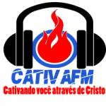 Logo da emissora Rádio Cativa fm