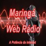 Logo da emissora Maringá  Web Radio