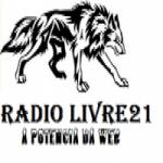 Logo da emissora Rádio Livre 21