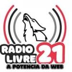 Logo da emissora Radio Livre 21